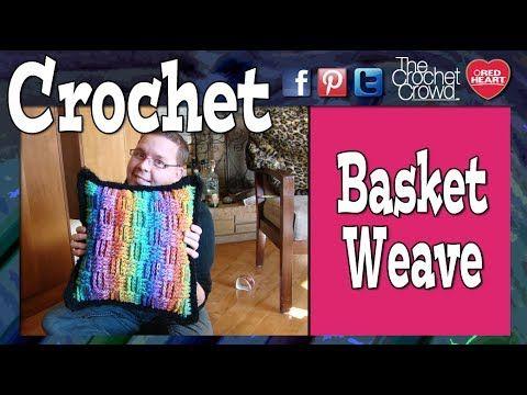 Crochet Along - Basket Weave Pillow Week 2: Pillow Option 2