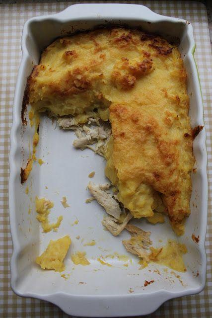 Hafif Mutfak: Fırında Püreli Tavuk