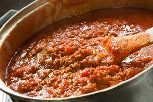 Cómo preparar Salsa Bolognesa