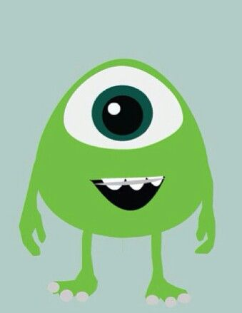 Little Mike Wazowski from Monsters University