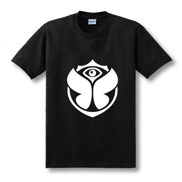 2017 New Hip Hop Short-sleeve O-neck Tshirts Electronic Music Tomorrowland T Shirts Man Classic Cotton Leisure T Shirts Clothing