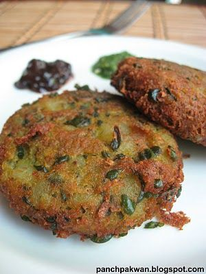Panch Pakwan: Spinach / Palak Tikki
