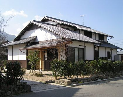 An Out Look Of A Typical Japanes House Earth Everyday