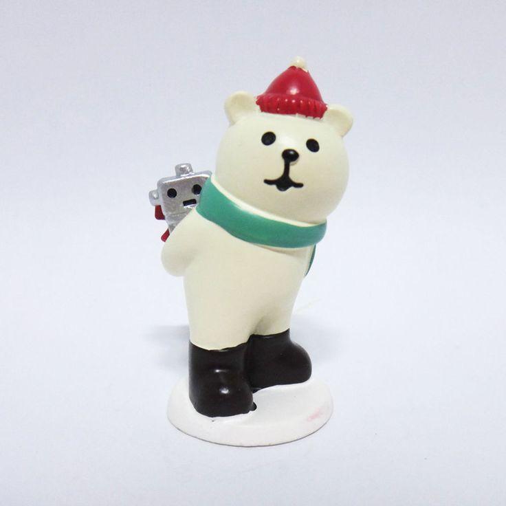 Concombre DECOLE Japan Cute Lovely Kawaii Figure Bear Hiding Christmas Present #ConcombrebyDECOLE