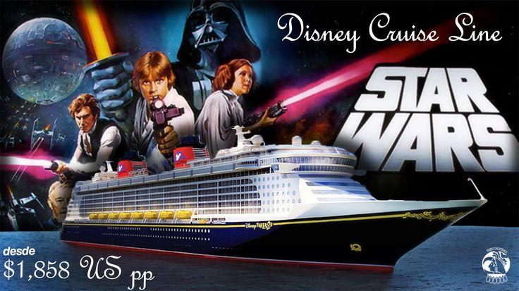 Disfruta de este galáctico paseo arriba de un crucero disney,  ¿Quieres más información? Llámanos al 5535 2102 y reserva ya. o déjanos tu correo y nosotros te mandamos la información que necesites. #Disney #Cruise #StarWars #viaje