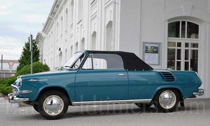 (1963) Škoda 1000 MB cabrio   Galerie   Veteráni i veterán - Oldtimers - Historická vozidla