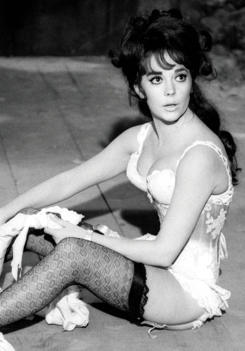 "Natalie Wood en ""La Carrera del Siglo"", 1965"