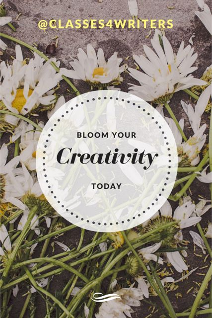 Your creativity in blossom.