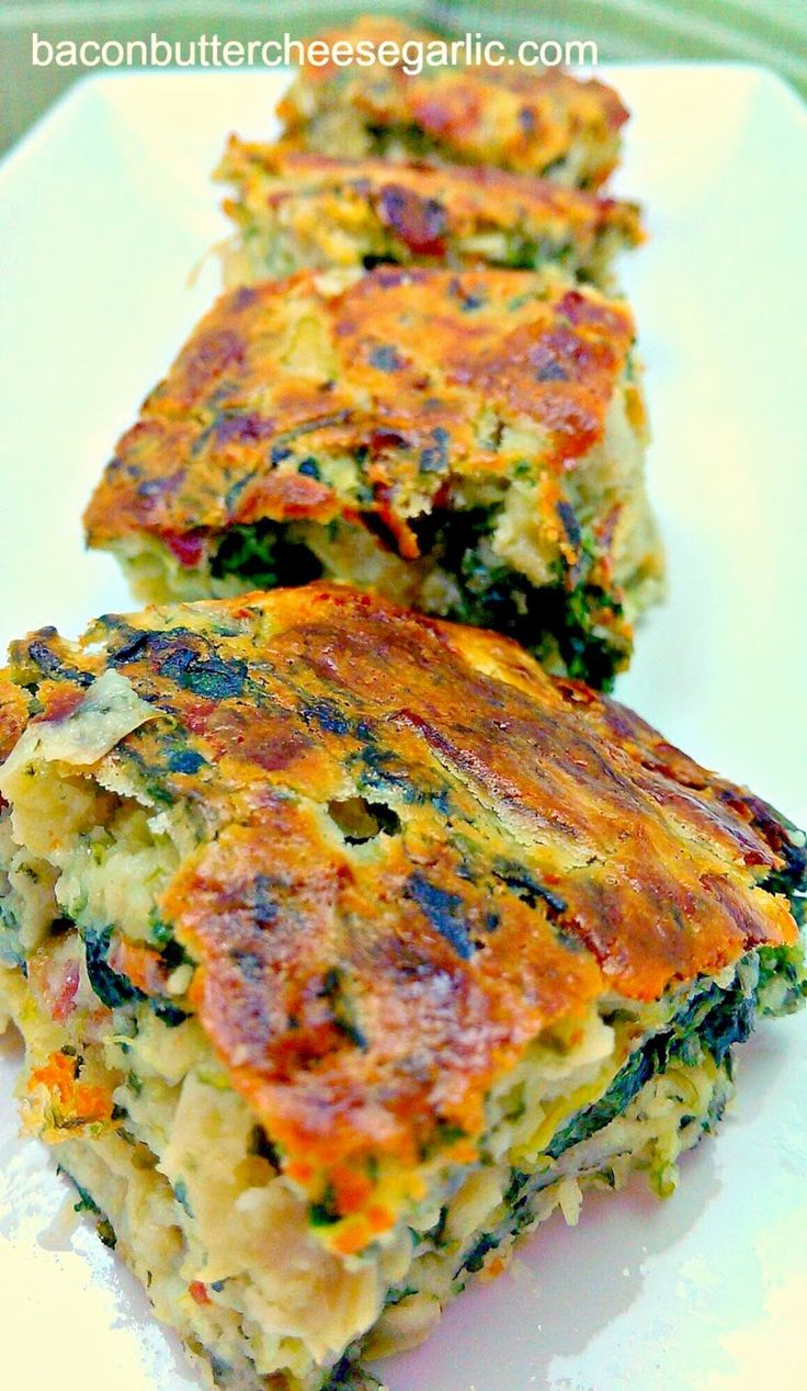 Bacon, Butter, Cheese & Garlic: Spinach, Bacon & Artichoke Bars