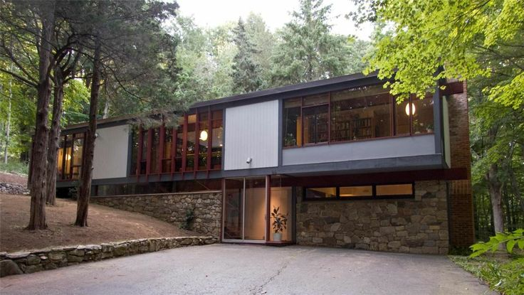17 best images about exterior split modern contemporary for Modern homes nj