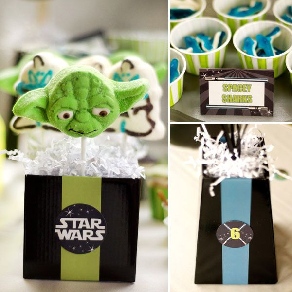 Star Wars Birthday Party   from Hostess Blog  #hwtm    party ideas and inspiration  www.sweeteventdesign.com