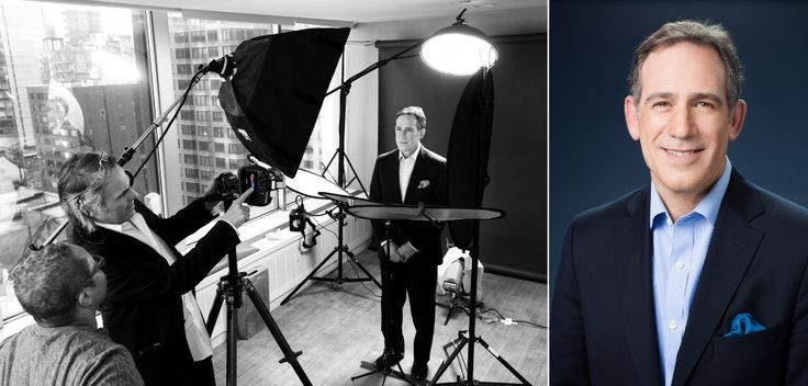 Behind the scenes of corporate headshots with award winning wedding photographer, Terry Gruber