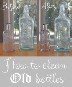 How To Clean Old Bottles The Quick And Easy Way!