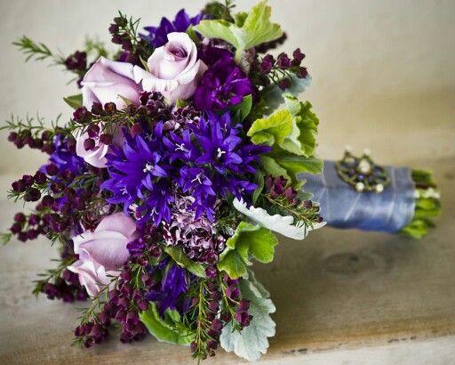 Light and dark purples