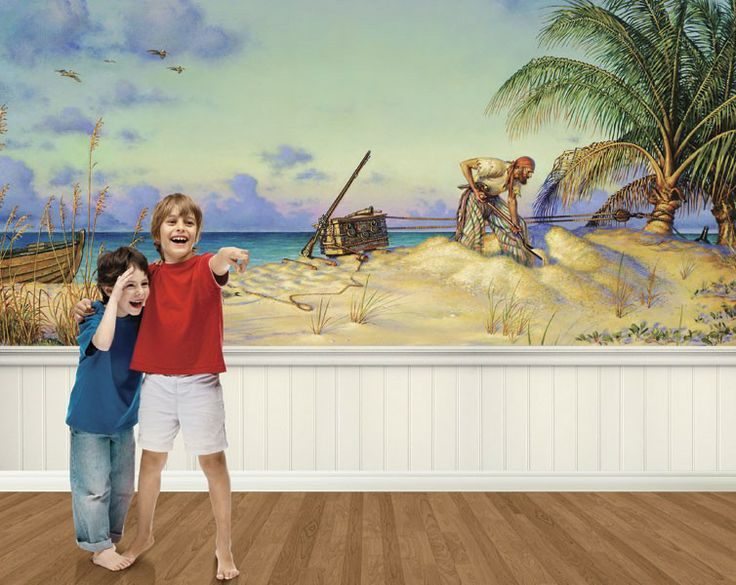 7 best Wallpapers images on Pinterest | Wall murals, Pirates and ...