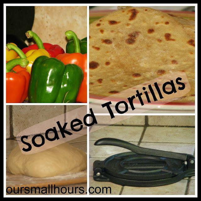 Soaked Tortillas -