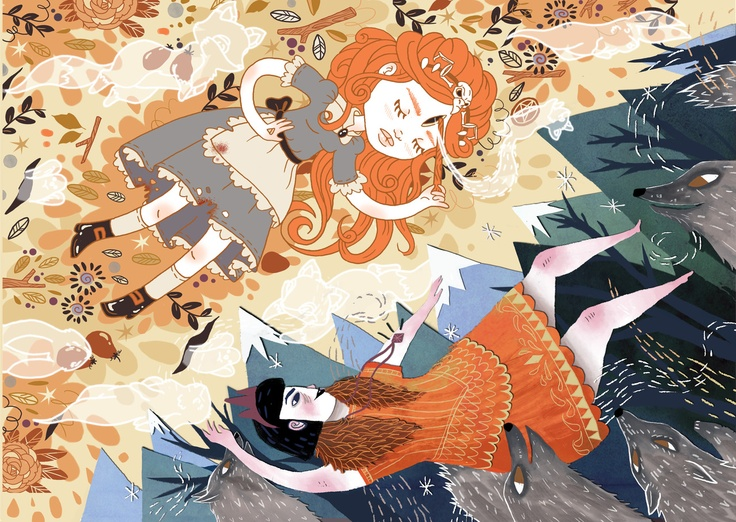 'Witchcraft' by Sophia Blackhall-Cain and Lauren Carney - what a collaboration! I absolutely adore the illustration styles of both artists and they look fantastic together.