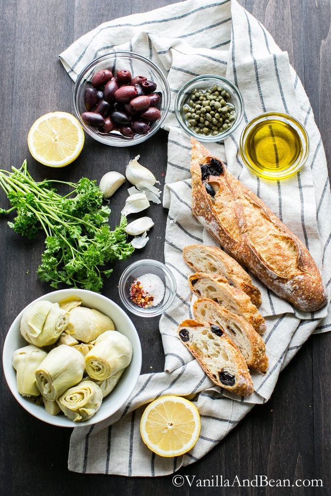 Artichokes, Olives and Crostini recipes on Pinterest