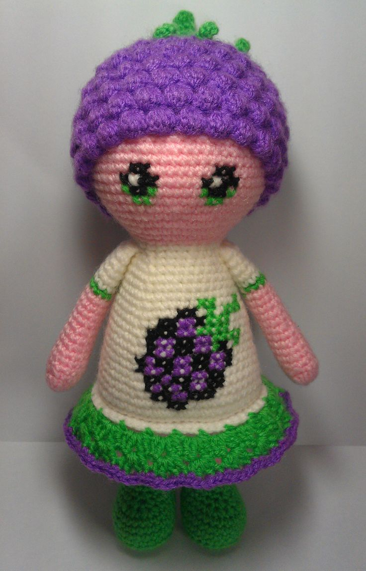 460 best images about Crochet Dolls on Pinterest Free ...