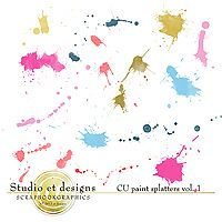 CU paint splatters vol.1