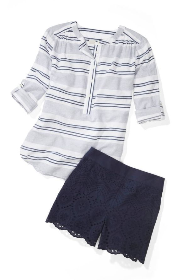 STITCH FIX FASHION 2018! Sign up today by clicking this pic, filling out your style profile & setting a date to receive! $20 styling fee goes towards ANY item you keep. #sponsored #stitchfix #fashion #summertrends #shorts