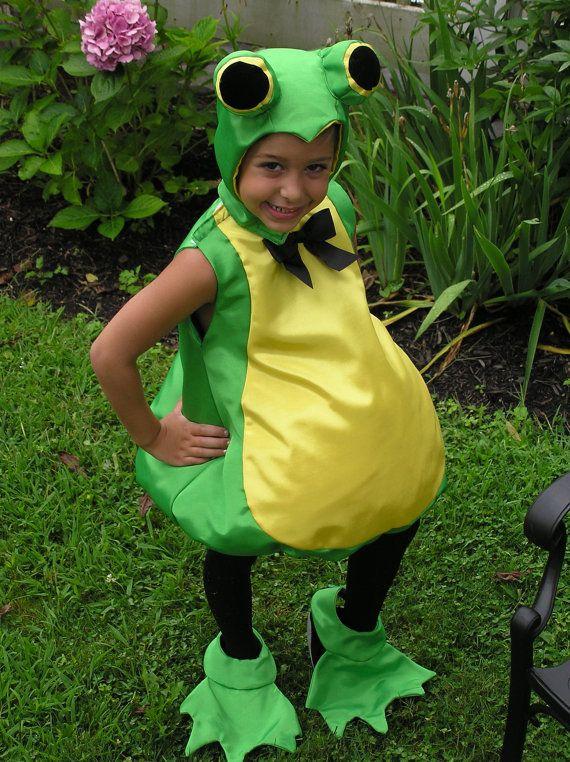 Frog Costume Children's sizes 4 6 8