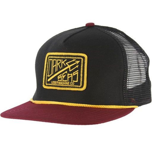 Dark Seas Fathom Trucker Hat (Black) $23.95