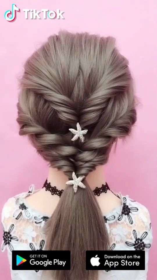 Find and share exciting videos on the world's most downloaded app. #TikTok is available now. Install the app today. #hairstyle #hair #beauty