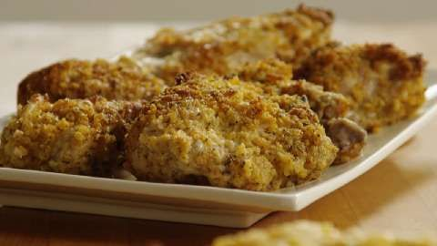 Oven-Fried Chicken III Allrecipes.com