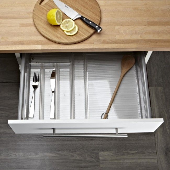InterDesign Linus Expandable Cutlery Tray