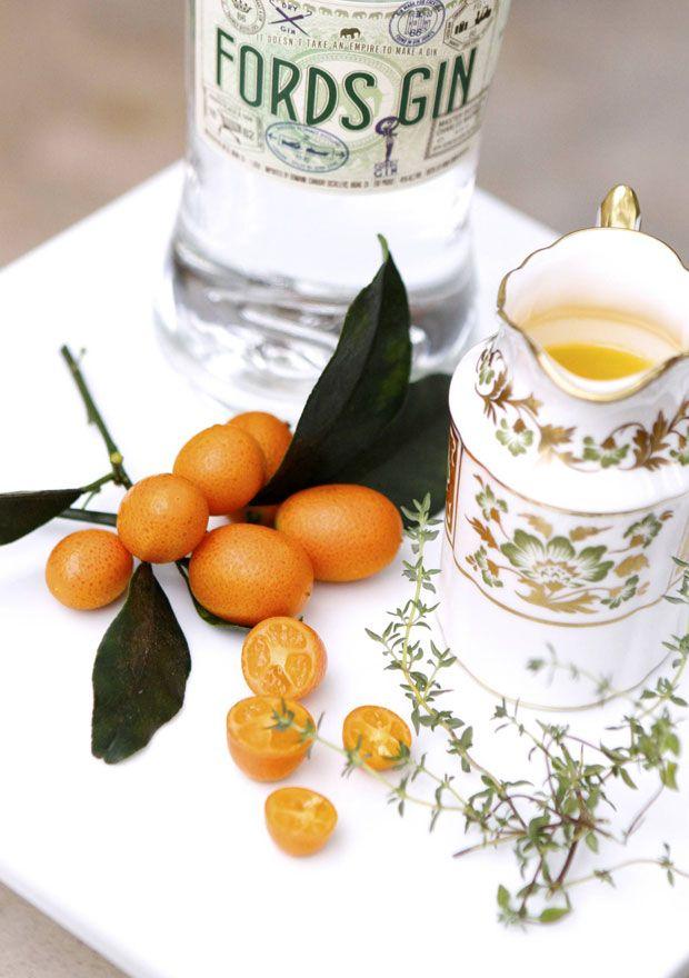 Gin and Tangerine Juice | Eat • Drink • Garden • Santa Barbara, California