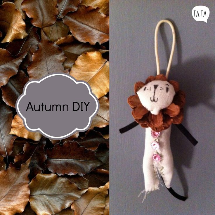 Ta.Ta. Unconventional Design For Kids: AUTUMN DIY- MADE BY TATA