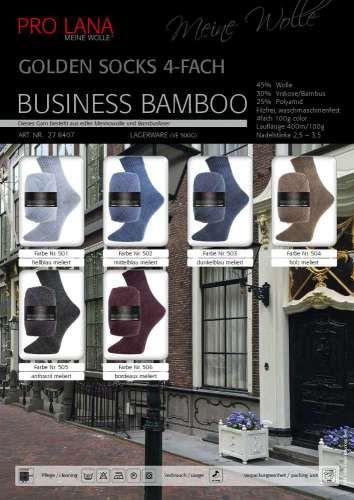 Golden Socks Business Bamboo Wolle günstig online kaufen