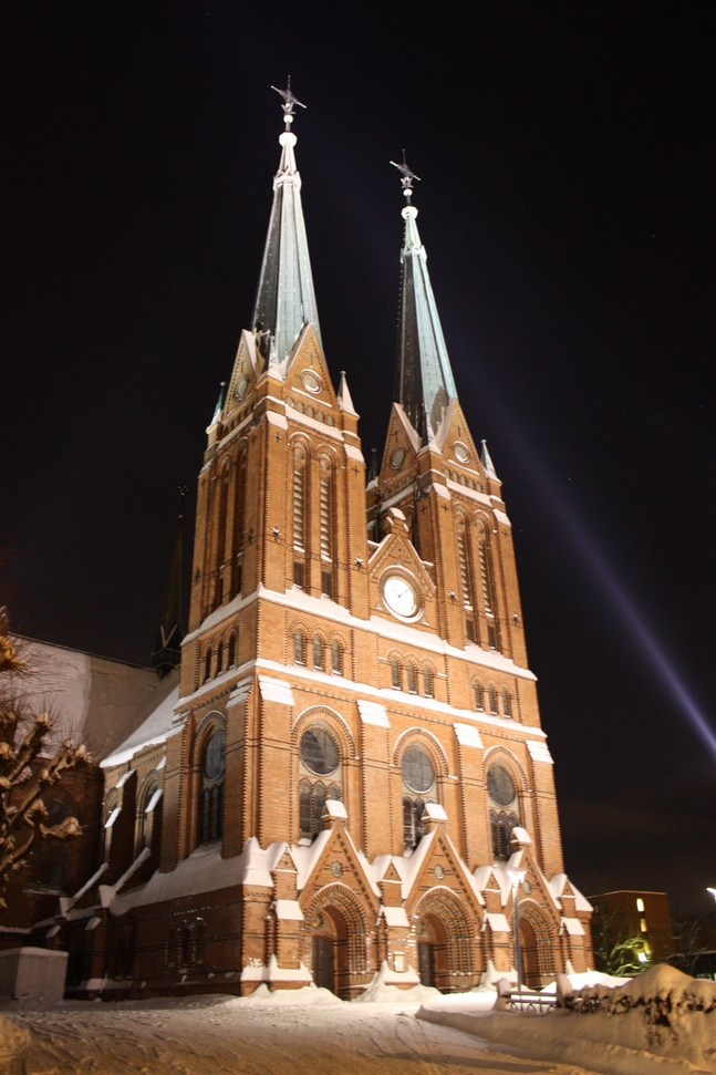 Skien church, built 1894, Norway ….Stay cheap and comfortable on your stopover in Oslo: www.airbnb.com/rooms/1036219?guests=2&s=ja99 and https://www.airbnb.com/rooms/6808361