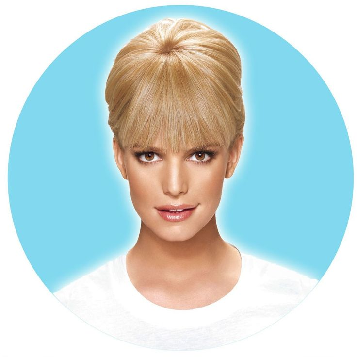 hairdo Jessica Simpson Bangs - Tru2Life Clip-In Fringe with Wisps Hair Extensions