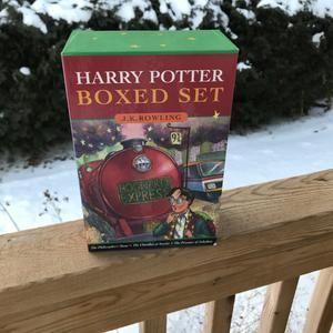 Harry Potter Books Boxed Set Page 53 Wand Type JK Rowling                      – LyndiLaneVintage