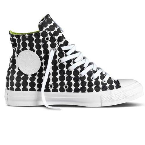 Marimekko Räsymatto Black/White Converse Shoes