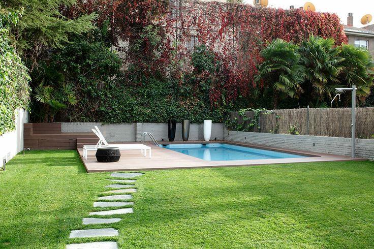 242 best jardines y terazzas images on pinterest gardens for Paisajismo jardines