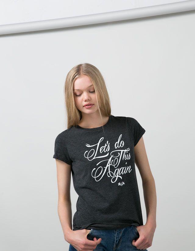 Printed - T- Shirts - WOMAN - Woman - Bershka Ireland