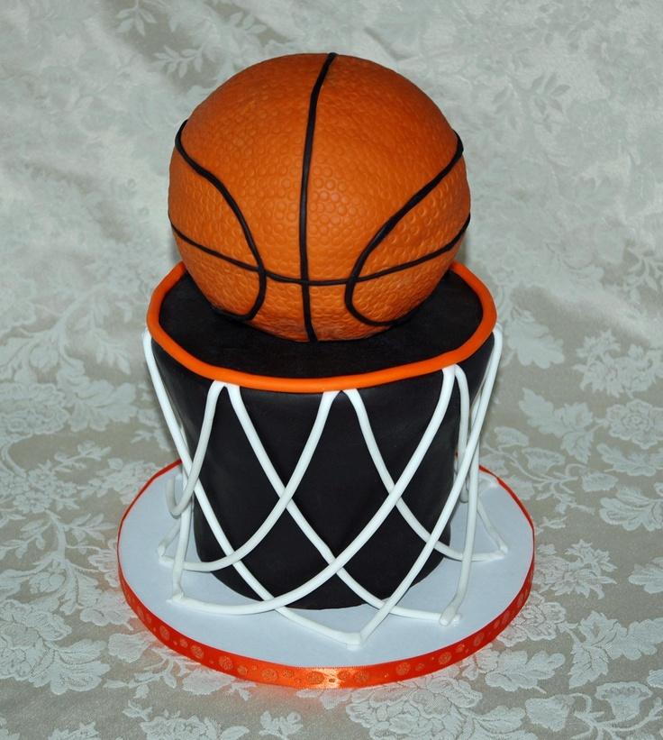 Basketball cakes basketball and cakes on pinterest