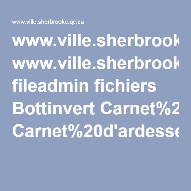 www.ville.sherbrooke.qc.ca fileadmin fichiers Bottinvert Carnet%20d'ardesses%20environnementales-Aliments%20biologiques.pdf