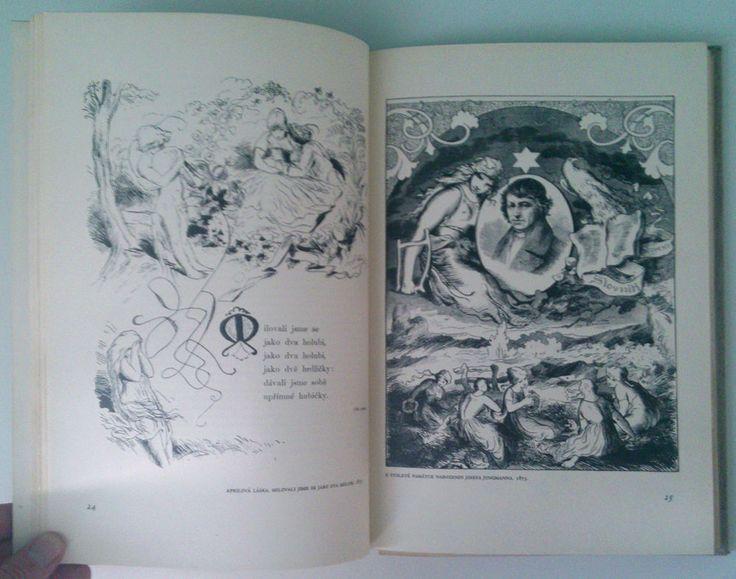 rare Czech book Mikolas Ales a CESKA KNIHA F.J.Muller signature n.329