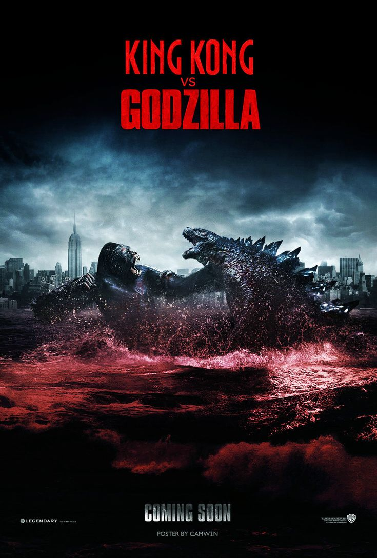King Kong Vs Godzilla (2020) - Fan Poster #1 by CAMW1N on DeviantArt