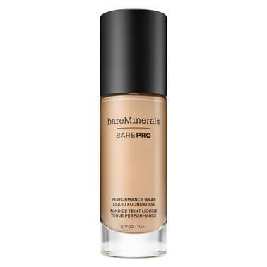 bareMinerals Flawless full-coverage and extreme long-wear, but not like you know it. Meet BAREPRO Liquid Foundation: an innovative, good-for-skin foundation formula that delivers oil-free complete coverage whilst blurring pores and imperfections.