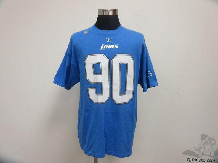 e5c863501 ... Alternate Mens Stitched NFL Elite Jersey NFL Detroit Lions Short Sleeve  Crewneck SUH t Shirt sz XL Extra Large Football NFL Nike ...