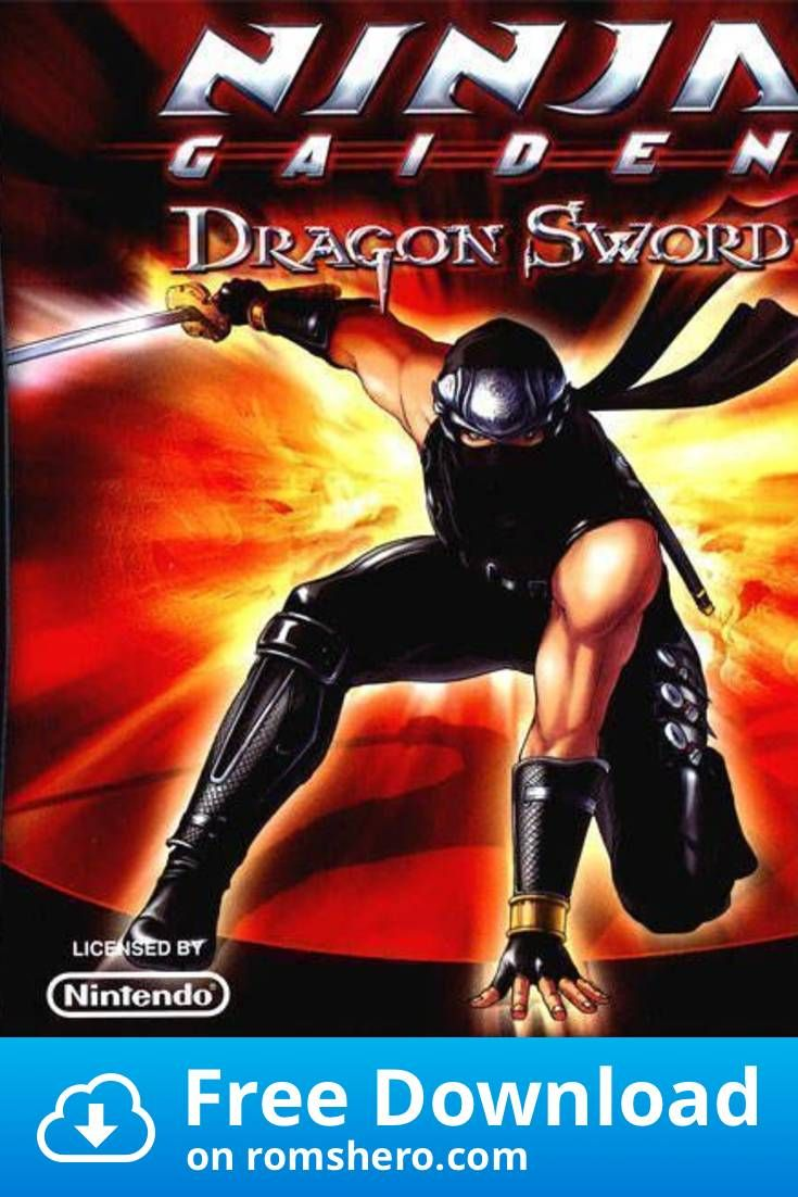 Download Ninja Gaiden Dragon Sword Nintendo Ds Nds Rom In 2020 Ninja Gaiden Nintendo Ds Dragon Sword