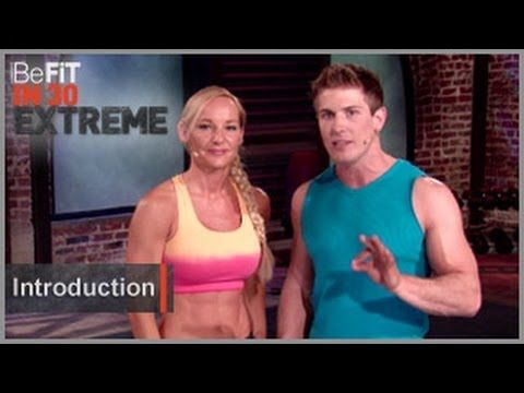 BeFit in 30 Extreme | Introduction (+playlist) Join Expert Trainers Scott Herman and Susan Becraft as they take you through 3 progressive 30 day programs adding up to a total 90 day challenge to build endurance, burn calories, and deliver accelerated results.