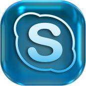 Skype logo - No attribution needed