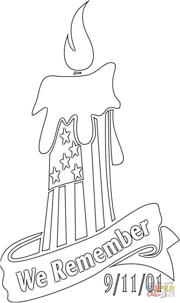 We Remember 9 11 01 Super Coloring Coloring Pages For Kids
