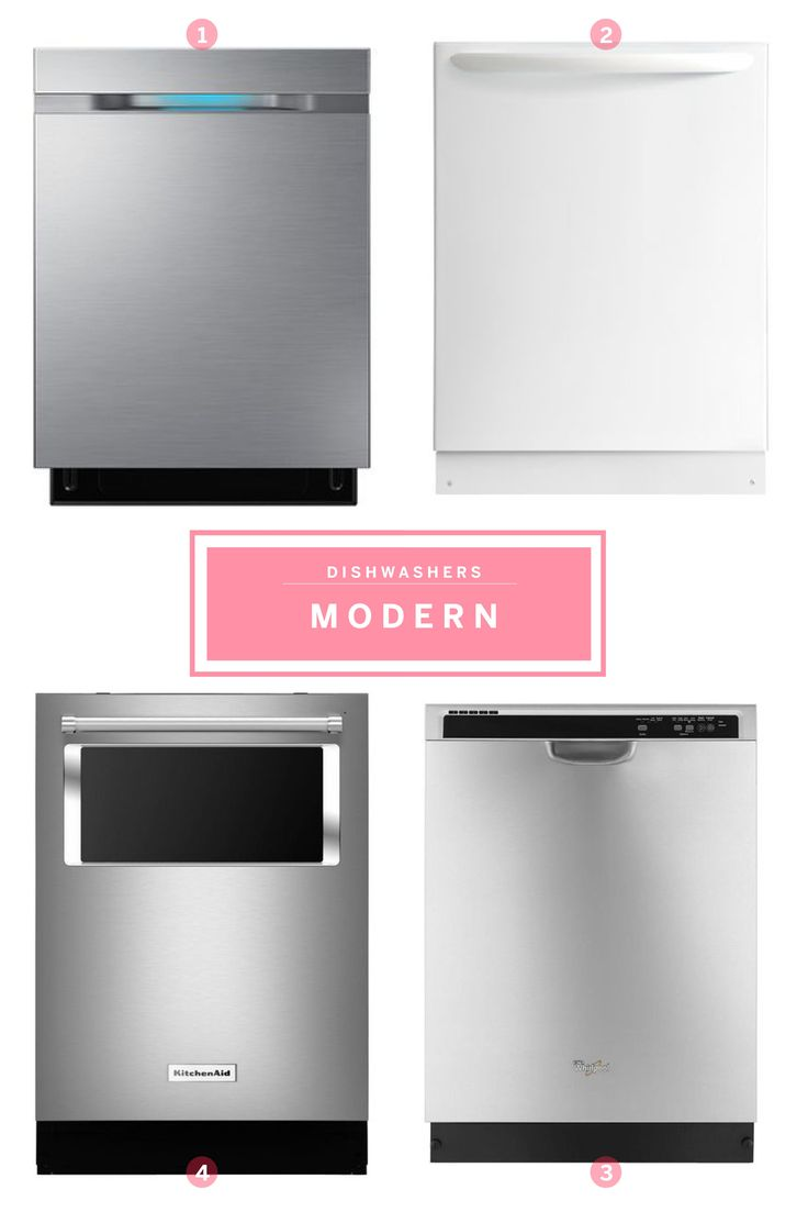 Shopping by Style: Great Dishwasher Picks For Modern, Vintage